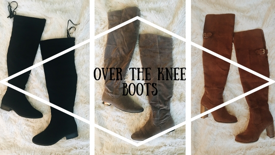 Affordable and Adorable Over the Knee Boots!