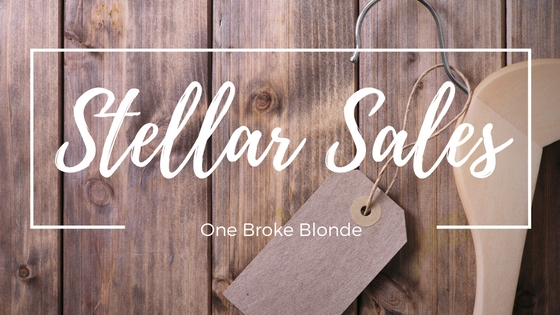 5 Sales You Don't Want to Miss!