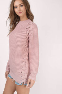 blush-clear-skies-lace-up-sweater