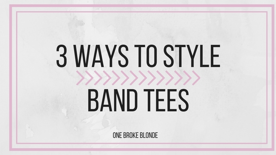 3 Ways To Rock Band Tees
