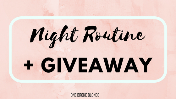 My Spring Night Routine feat. Smile Brilliant + GIVEAWAY!